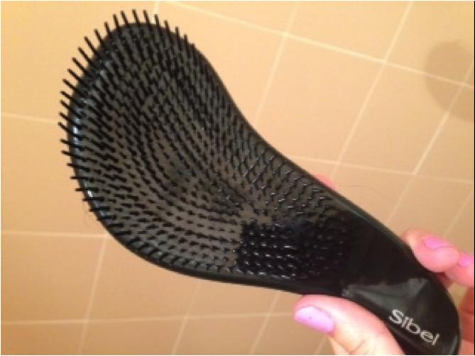 cepillo para el pelo meli melo