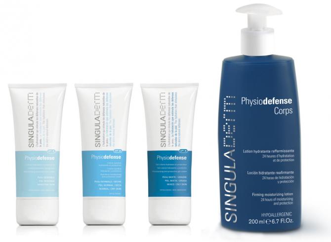 Cuidado facial physiodefense, linea de productos