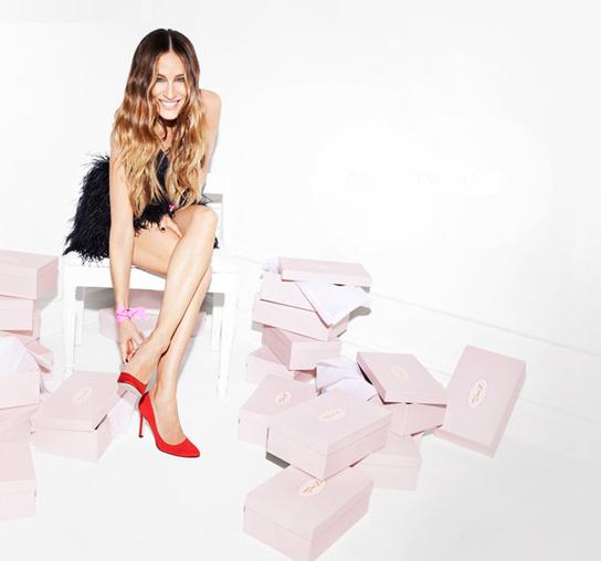 Sarah Jessica Parker y su colección de zapatos