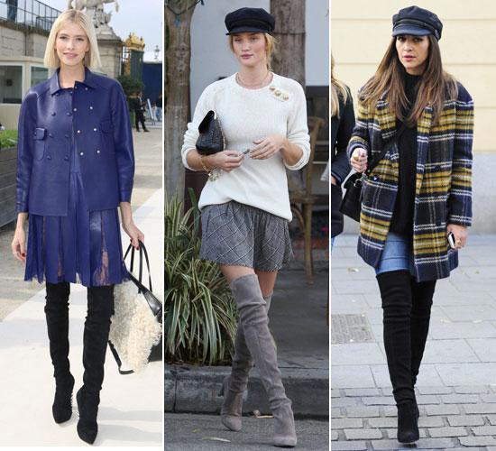 Botas XL, tendencias en calzado mujer 2014