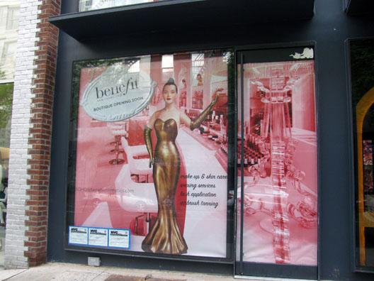 Nueva tienda BENEFIT en Madrid