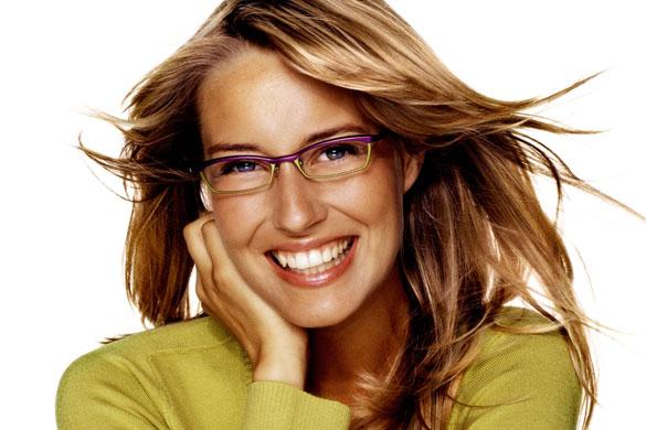 MAQUILLAJE mujeres con gafas