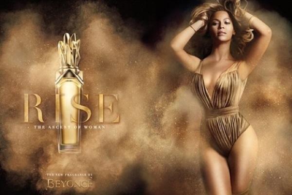 Rise, el nuevo perfume de Beyoncé