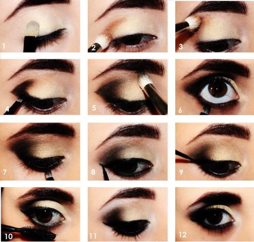 Maquillaje cat eyes paso a paso for Como maquillar ojos ahumados paso a paso