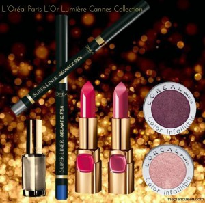 Lara Stone presenta el maquillaje oficial de Cannes 2014