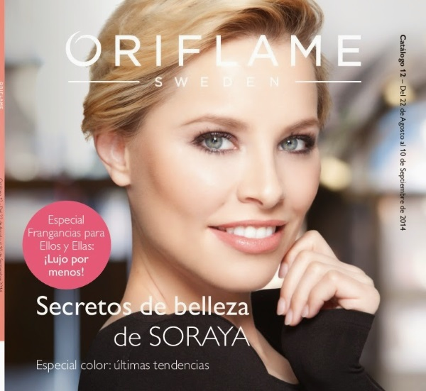 Soraya Arnelas para Oriflame