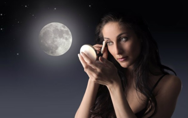 La luna y la belleza