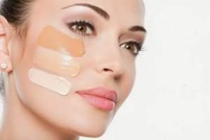 diferentes colores para lograr una base de maquillaje perfecta