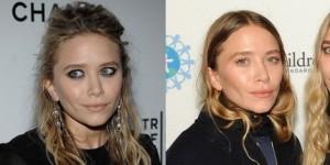 Antes y después de pasar por quirófano de mary-Kate Olsen