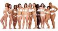 diferentes cuerpos de mujer
