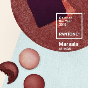 pantone color marsala