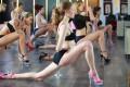 mujeres practicando stiletto strength