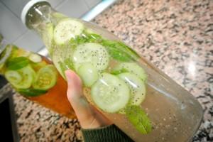 Imagen de bebida casera realizada con Chía