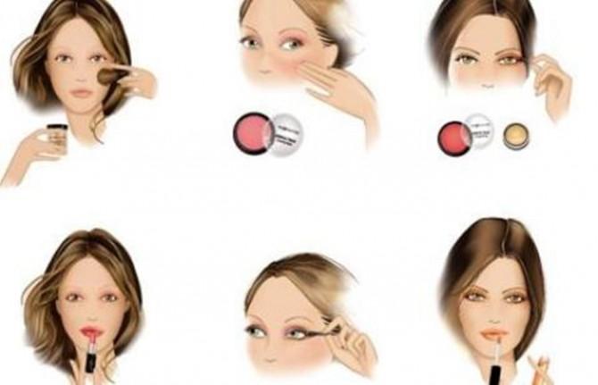 dibujos de maquillaje de ojos