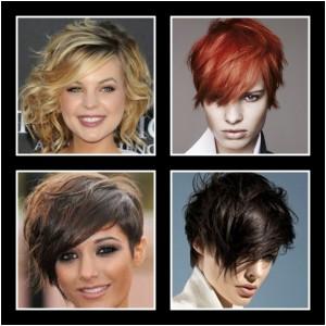 imágenes de cortes de pelo asimétricos