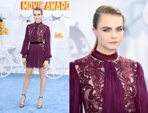 Cara Delvingne en MTV  Movie Awards