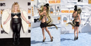 Las peor vestidas de los MTV Movie Awards