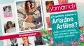 Ariadne Artiles para Yamamay