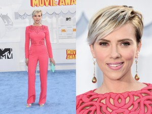 Scarlett Johansson en los MTV Movie Awards