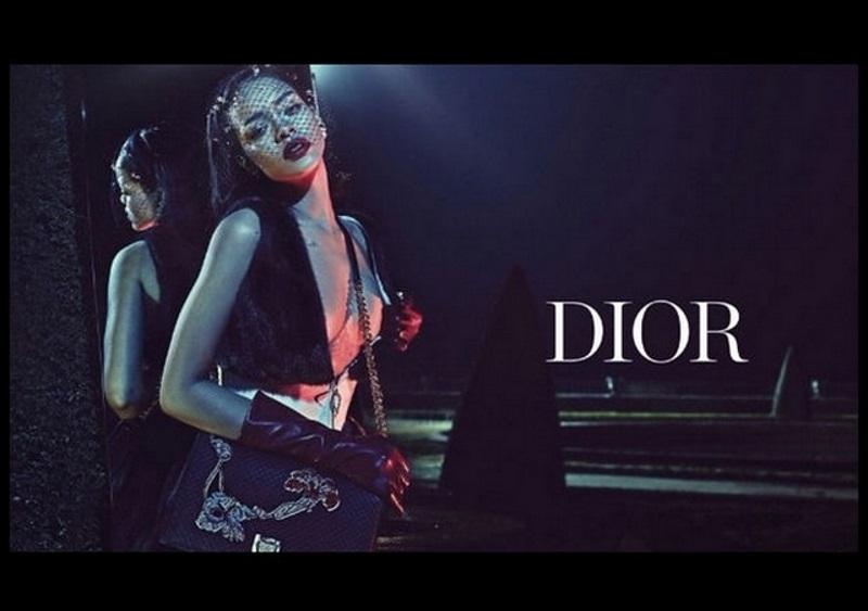 Rihanna imagen de Dior