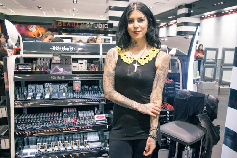 Kat Von D presenta su maquillaje para Sephora