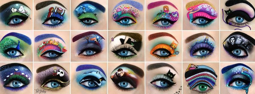 Tal Peleg, maquillaje de ojos que enamora