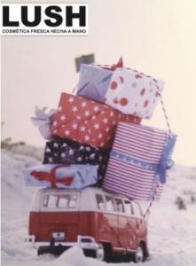 regalos de navidad de Lush
