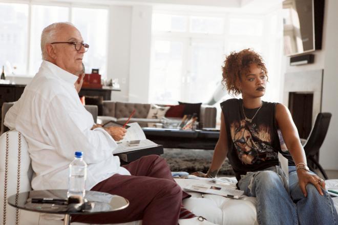 Rihanna para Manolo Blahnik en una nueva línea de zapatos
