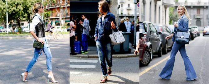 famosas luciendo zapatos y tejanos