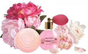 perfume de peonía Jeanne en Provence