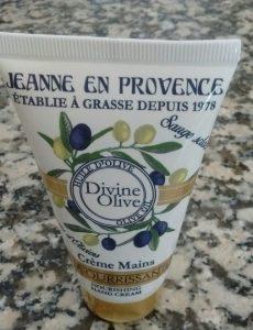 Crema de Manos gama Divine Olive de Jeanne en Provence