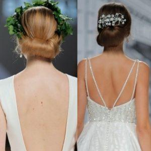 Tendencias en peinados de novia - Monos bajos novia ...