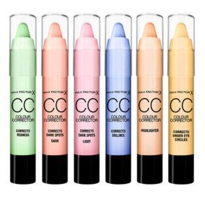 Correctores del Color, cómo usarlos adecuadamente