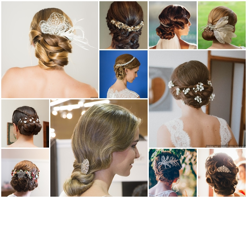 Peinados de Novia con los que te sentirás el centro de atención