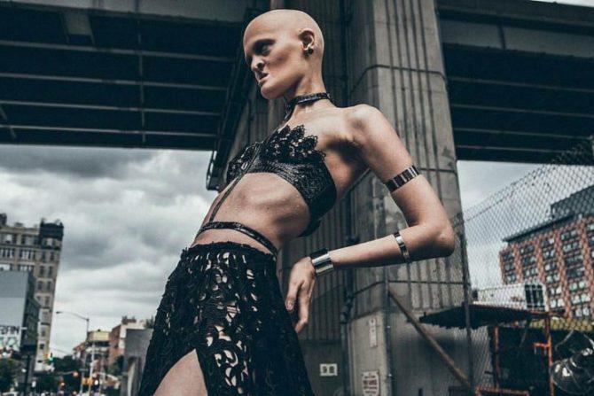 Melanie Gaydos, la modelo que ha roto con todos los estereotipos