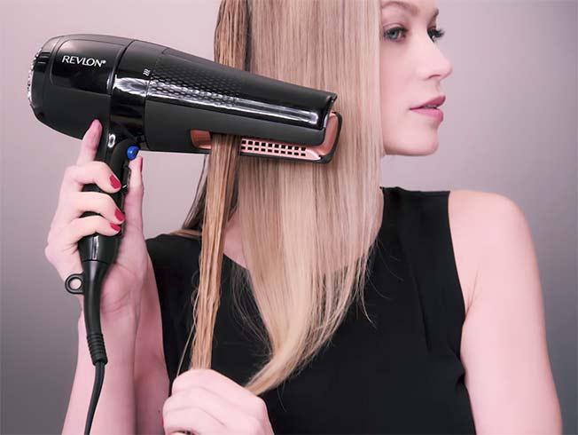 Revlon crea un Secador que a la vez plancha el pelo